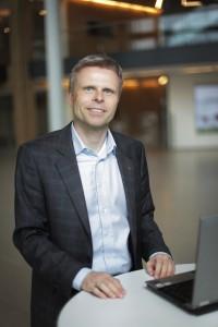 Kommunikasjonssjef Bjørn Erik Sættem i Storebrand. FOTO: Taral Jansen