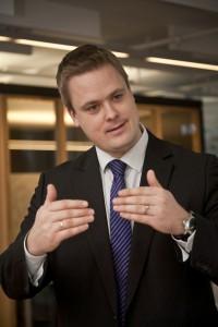 Privatøkonom Endre Jo Reite i SpareBank 1 SMN. FOTO: Thor Nielsen