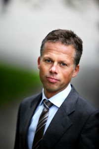Kommunikasjons-direktør Lars N. Sæthre i Handelsbanken. FOTO: Handelsbanken