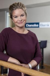 Kommunikasjons-rådgiver Silje Arntsberg i Danske Bank.