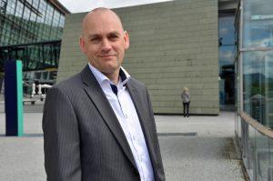 Leder for Telenors mobilvirksomhet, Bjørn Ivar Moen. FOTO: Telenor