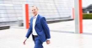 Leder for Telenor Bedrift, Ove Fredheim. FOTO: Telenor