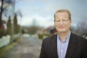 Forbrukerrådgiver Carsten H. Pihl i Norges Eiendomsmeglerforbund. FOTO: CF Wesenberg/ Kolonihaven