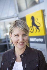 Kommunikasjonssjef i NAF, Inger Elisabeth Sagedal. FOTO: NAF/ Erik Norrud