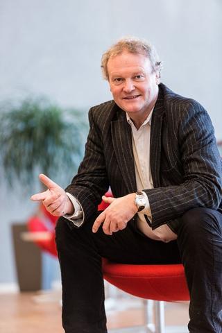 Knut Dyre Haug, pensjonsøkonom i Storebrand. Foto: Storebrand