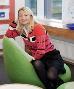 Pressekontakt i Fjordkraft, Jeanne Tjomsland. FOTO: Fjordkraft