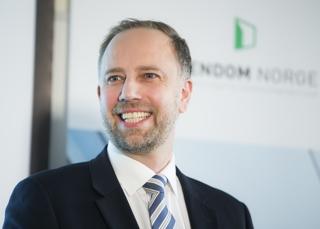 Administrerende direktør Christian Vammervold Dreyer i Eiendom Norge Foto: NTB scanpix