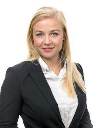 Karin Bruteig, eiendomsmeglerfullmektig i Krogsveen Foto: Krogsveen