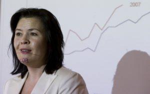 Sjefsøkonom i Sparebank 1, Elisabeth Holvik. Foto: Bjørn Sigurdsøn / NTB scanpix
