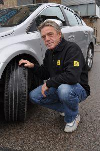 Kommunikasjonsrådgiver Jan Ivar Engebretsen i NAF. Foto: NAF