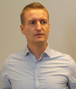 Gründer og ansvarlig redaktør av nettavisen Pengenytt.no, Kent Øksnes. Foto: Sjur Jansen