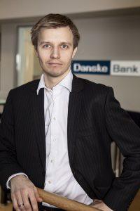 Kommunikasjonssjef i Danske Bank, Stian Arnesen. Foto: Danske Bank