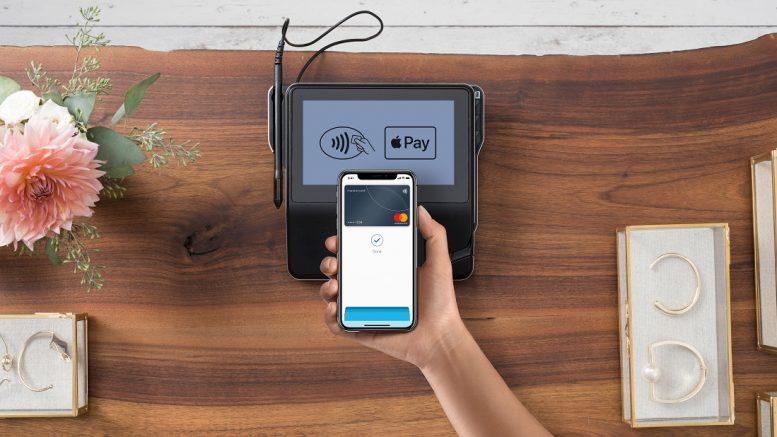 b7901f58 Med Apple Pay kan du enkelt betale kontaktløst med din Apple-enhet, som for  eksempel din iPhone, i butikken. Foto: Matercard
