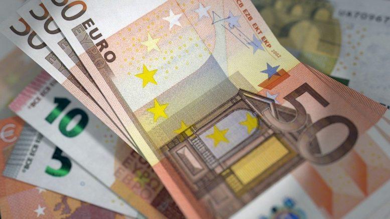 hvor mye er euro i norske kroner